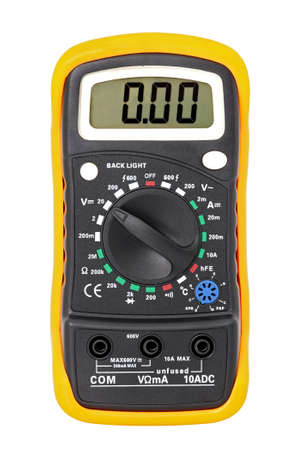 Multimeter for a measurement of voltage, a current, resistance.