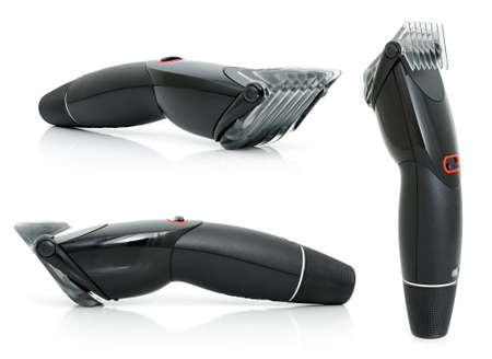 hairclipper: Hairclipper on the white background