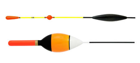 Bobber for fishing isolated on a white background photo
