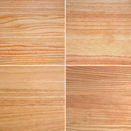 Combined board from an oak, an ash-tree and other breeds of a wood Stock Photo - 12067770