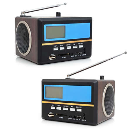Minispeaker - FM receiver with card-reader and USB photo