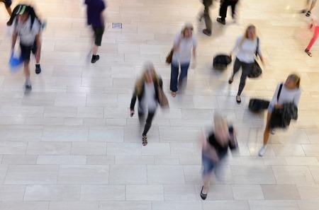 pedestrians: Pedestrians on zebra crossing