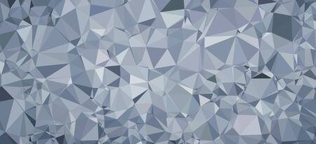 3D triangle mesh pattern Stock Photo
