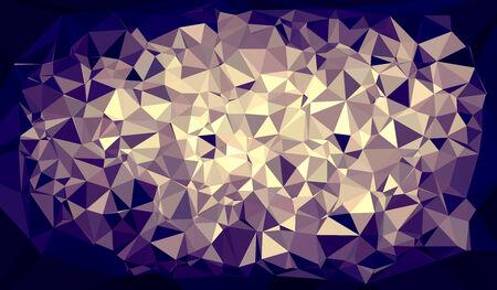 3D triangle mesh pattern Stock Photo