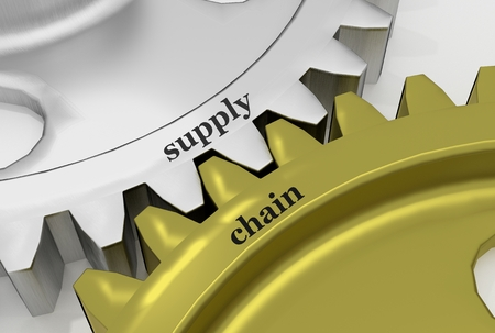 supply: Supply Chain on the Mechanism of silver and bronze gears