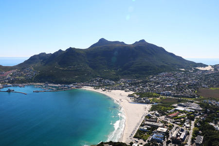Hout Bay view from a height