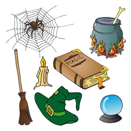 Halloween theme collection 02 - vector illustration