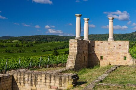 Villa Rustica Weilberg, Ancient Roman winery near Bad Duerkheim in Rhineland-Palatinate, Germany