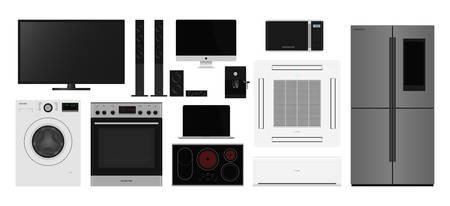 Home appliances Vectores