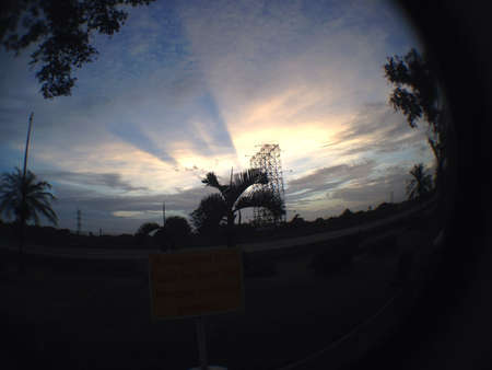 mornings: Mornings on the fast lane expressway sunrise