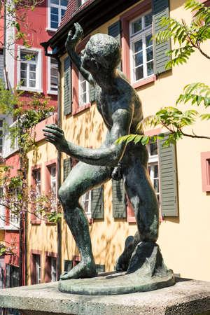 Old town of Freiburg