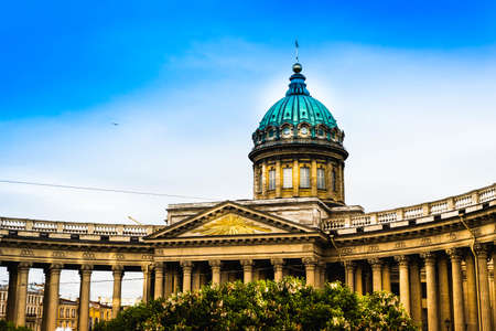 Kazan Cathedral in St Petersburg, Russia