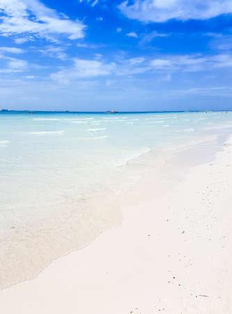 sea sky sand background Stock Photo