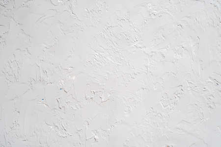 abstract gray plaster background and white color