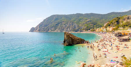 Monterosso al mare Cinque terre - scenic Ligurian coast, Italy