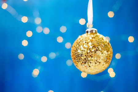 Christmas decoration on abstract Stock Photo