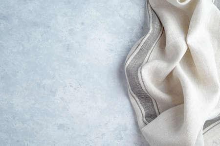 kitchen cloth napkin on wood