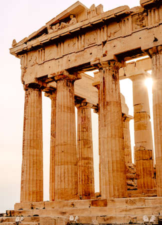 Acropolis of Athens, architectural monument, tourist attraction tourism Stock fotó