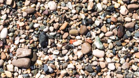 sea stones background pattern