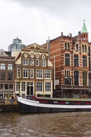 Old buildings in Amsterdam, the Netherlands Stockfoto