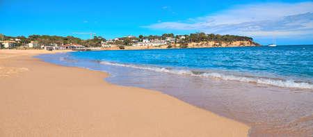 Modern Spanish city beach Stok Fotoğraf