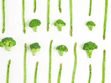 Creative layout made of broccoli. Stock fotó - 133830527