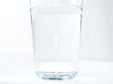 Water glass isolated with clipping path included Stock fotó - 133830524