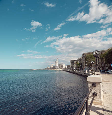 Landscape in spring of the town of Bari in Italy Stock fotó - 133830532