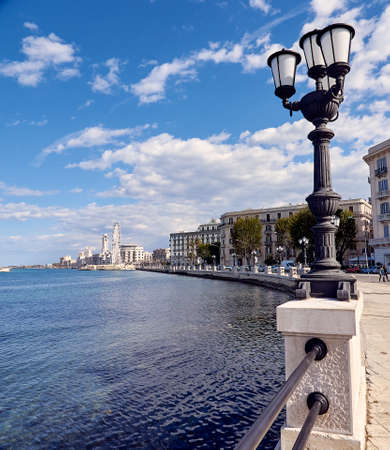 Landscape in spring of the town of Bari in Italy Stock fotó - 133831696