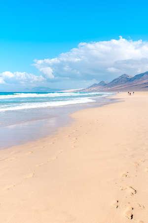 Cofete Beach, Fuerteventura Jandia Peninsula