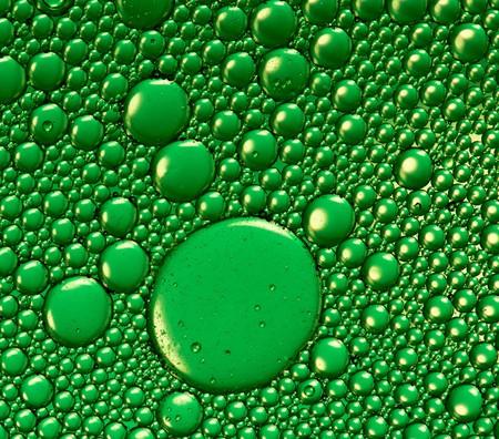 bubble acid: Green bubbles texture