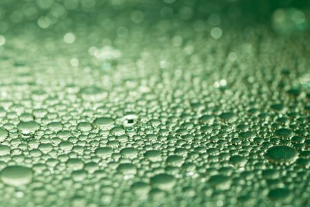 agitated: Green bubbles texture