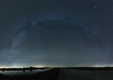 another way: Milky Way from one end to another