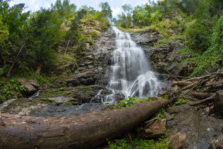 recently: Recently discovered Scorus Waterfall, biggest in Romania