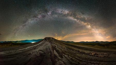 Melkweg landschap
