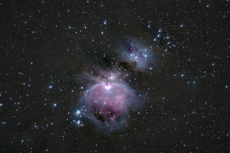 Orion nebula M42, taken from Romania