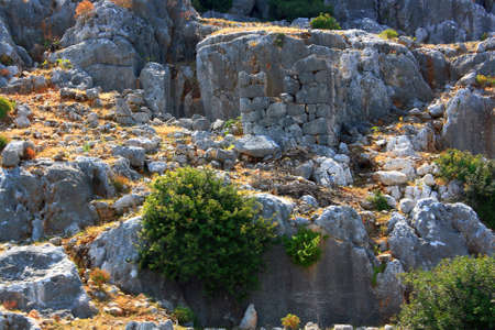 ancients: The ancients of Lycia  The town Kekova   The ancient civilization of Lycia