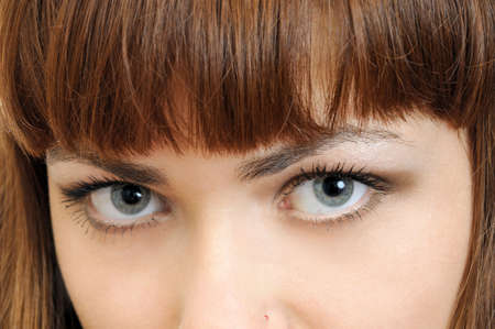 gray eyes: Big beautiful gray eyes