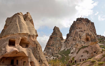Environment landscape in Cappadocia Turkey photo