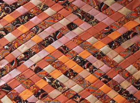 Fabrics mosaic Stok Fotoğraf - 83589335