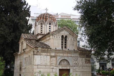 Old greek church Banco de Imagens