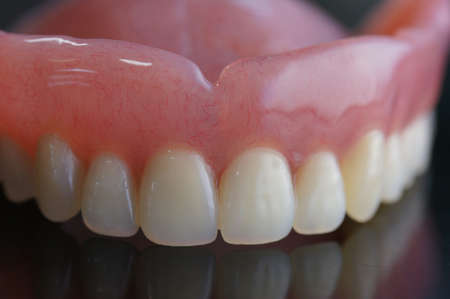 resin: removable full denture made by resin