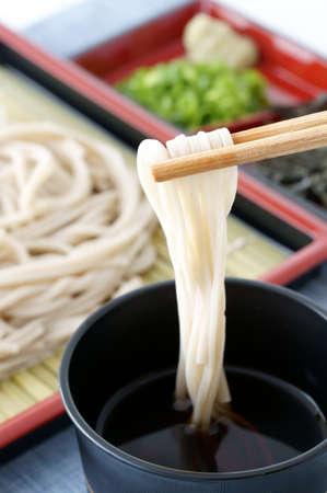Backwheat noodle Stock Photo - 13126782