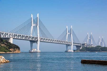 斜張岩黒島橋、瀬戸大橋、日本のメンバー