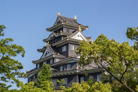 okayama: Okayama castle in Japan Okayama
