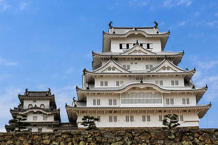 Himeji castle ; The one of National treasure of Japan 報道画像