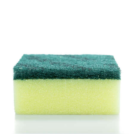 purge: Sponges isolated on the white background.