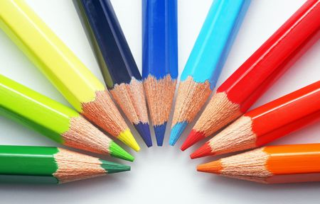 Colourful Crayons photo