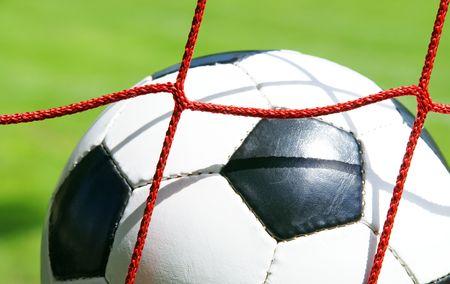 Soccer Goal - Success Concept photo