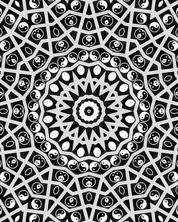 Yin Yang Spirit Mandala photo